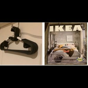 10 hangers w free IKEA catalogue last issue book